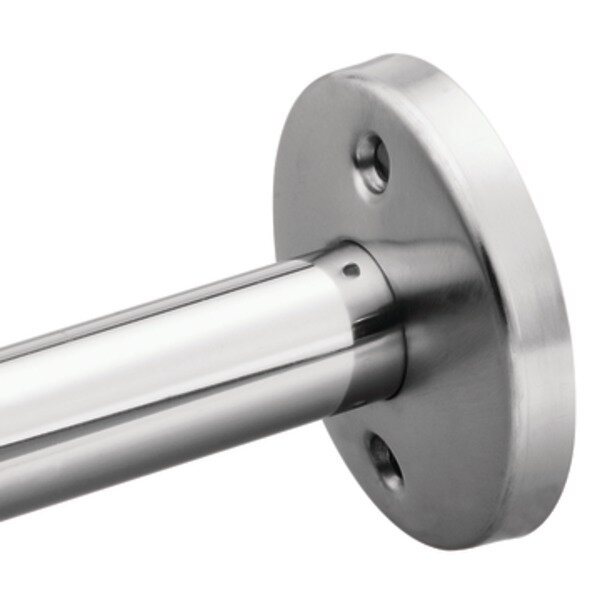 Commercial Flange with Exposed Mounting Screws by Donner Bath Furnishings