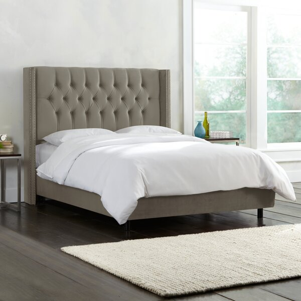 Brunella Upholstered Standard Bed by Willa Arlo Interiors