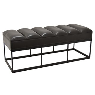 Arango Faux Leather Bench by Mercer41 SKU:BA443223 Purchase