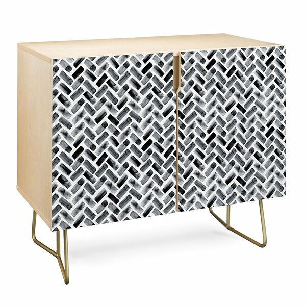 Little Arrow Design Co Arcadia Herringbone Accent Cabinet By East Urban Home