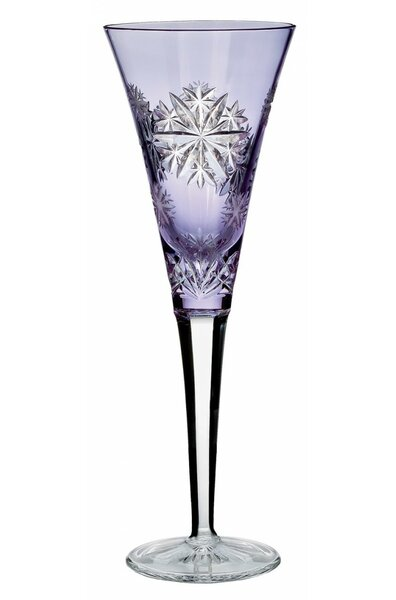 Snowflake Wishes Crystal 12 oz. Champagne Flute by Waterford