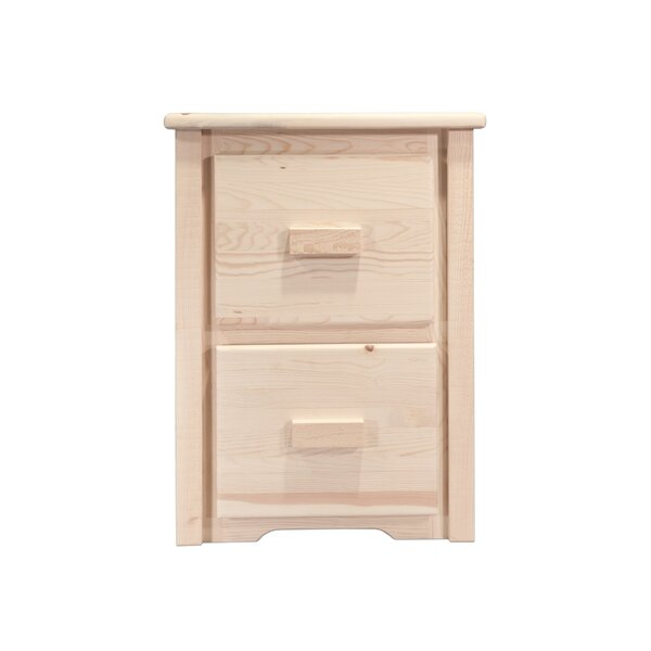 Katlyn File Cabinet 2 Drawer by Mistana