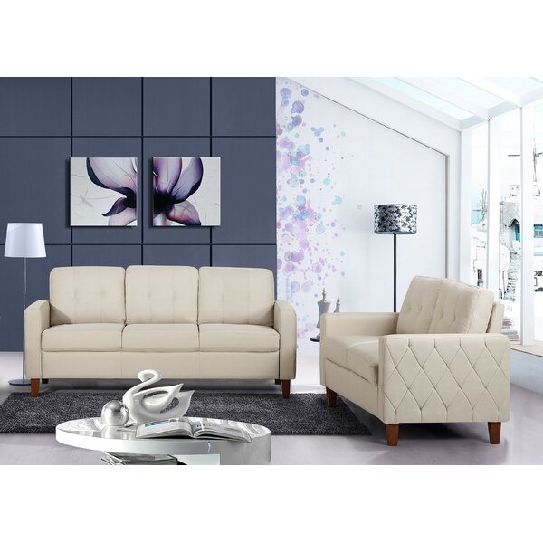 Castiglia 2 Piece Living Room Set by Winston Porter
