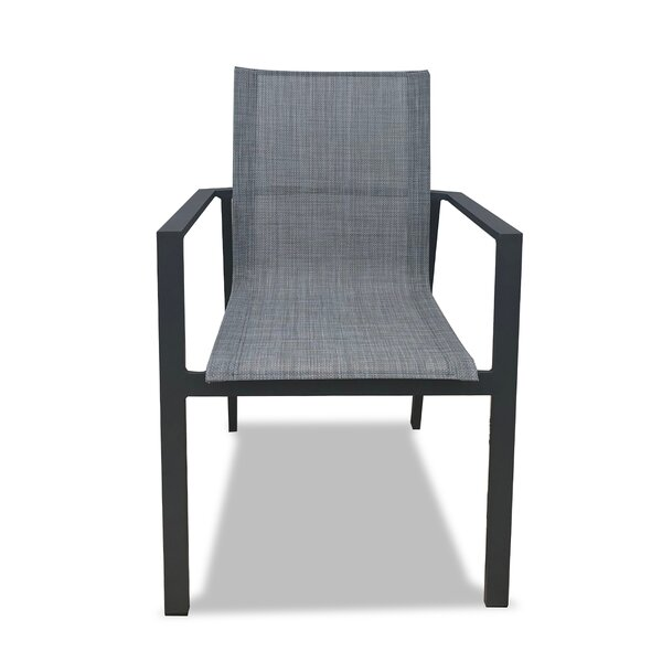 Gilda Stacking Patio Dining Chair by Ebern Designs