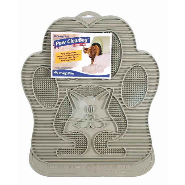 Cat Cleaning Litter Mat by Omega Paw