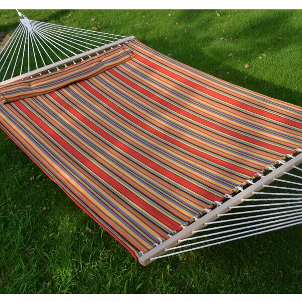 Guerro Fabric Heavy Duty Double Sleep Bed Tree Hammock by Andover Mills
