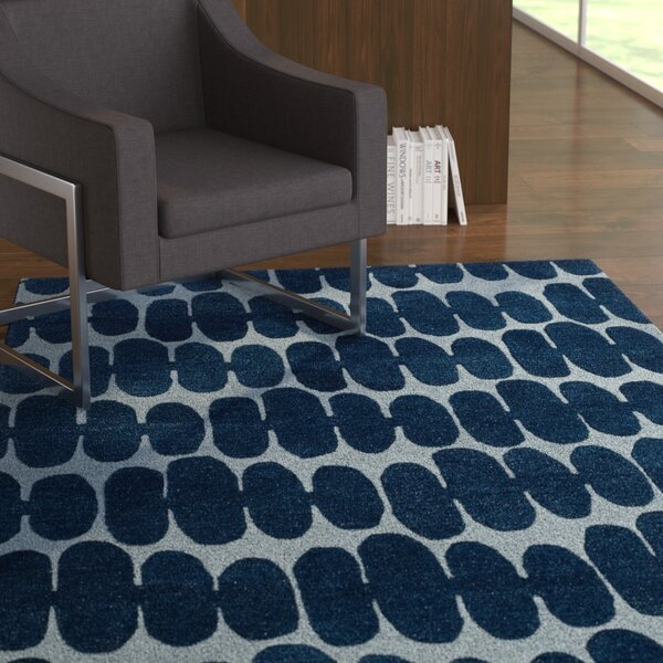 Earnhart Blue Area Rug by Latitude Run
