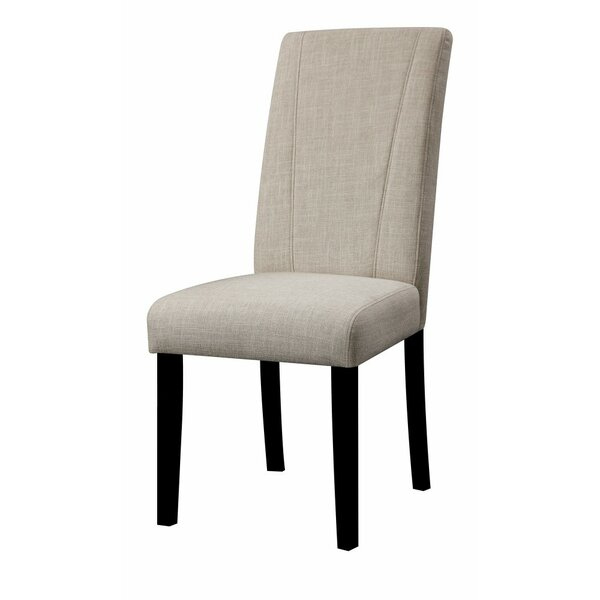 Polzin High Back Parson Upholstered Dining Chair (Set of 2) by Charlton Home