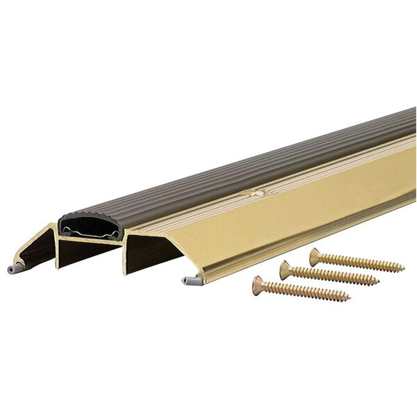 1.13 x 3.75 x 36'' Threshold in Bright Gold by M-d Products