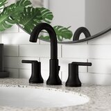 Trinsic Widespread Bathroom Faucet with Drain Assembly and DIAMOND™ Seal Technology by Delta