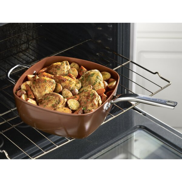 Endura 7 qt. Saute Pan with Lid by T-fal