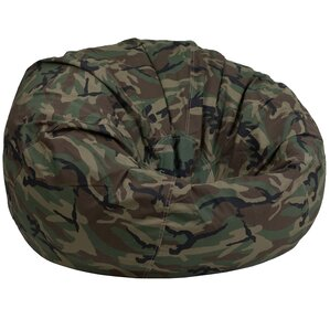 Wonderful Camouflage Lightweight Kids Bean Bag Chair