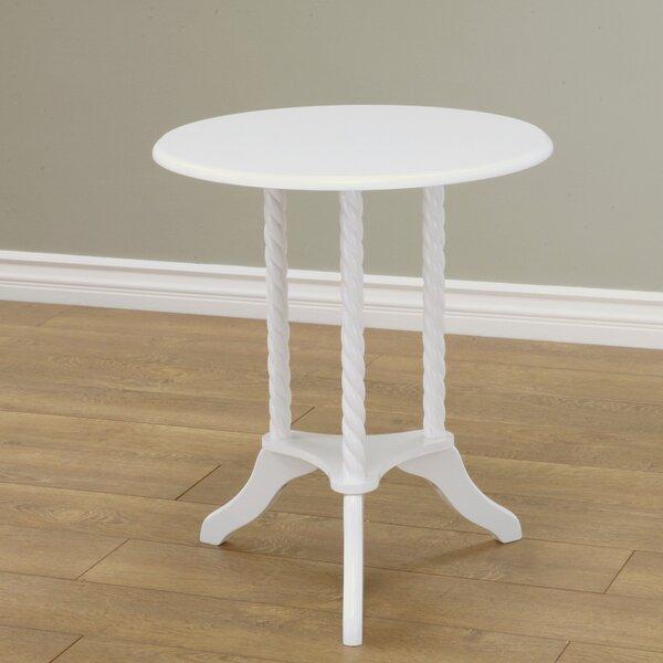 Harlen Pedestal End Table By Harriet Bee