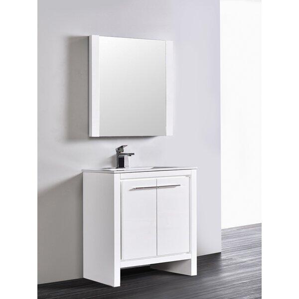 Artemis Modern 29 Single Bathroom Vanity Set with Mirror by Ivy Bronx