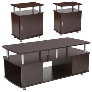 Axton 3 Piece Coffee Table Set by Ebern Designs