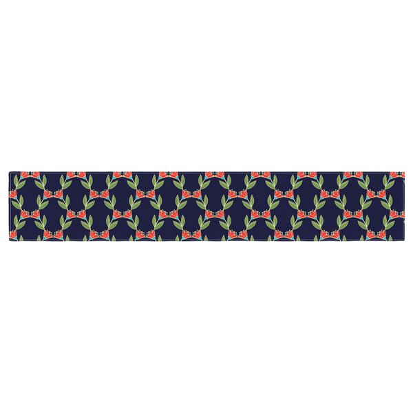 Holly Helgeson Vine Pattern Table Runner by East Urban Home