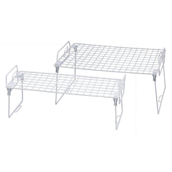 2 Piece Kitchen Helper Shelf [Honey Can Do]