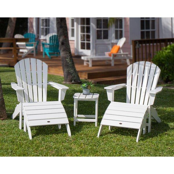 South Beach 5 Piece Conversation Set by POLYWOOD®