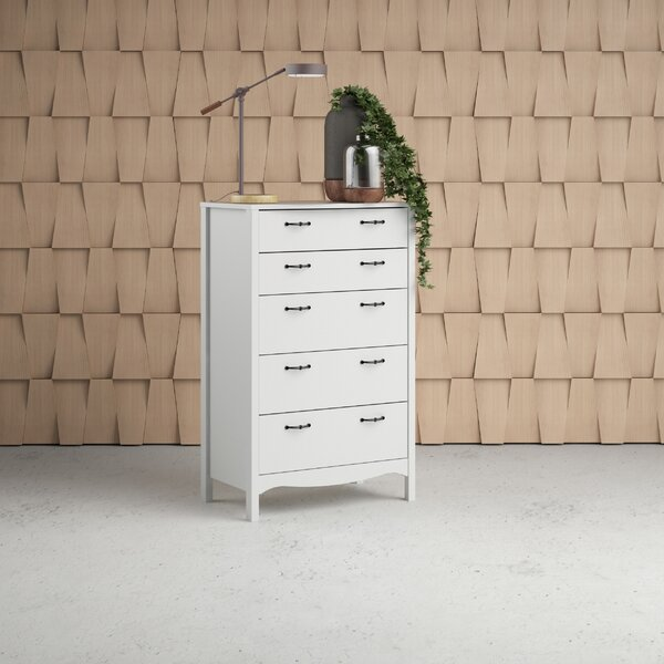 Xochitl 5 Drawer Chest by Beachcrest Home