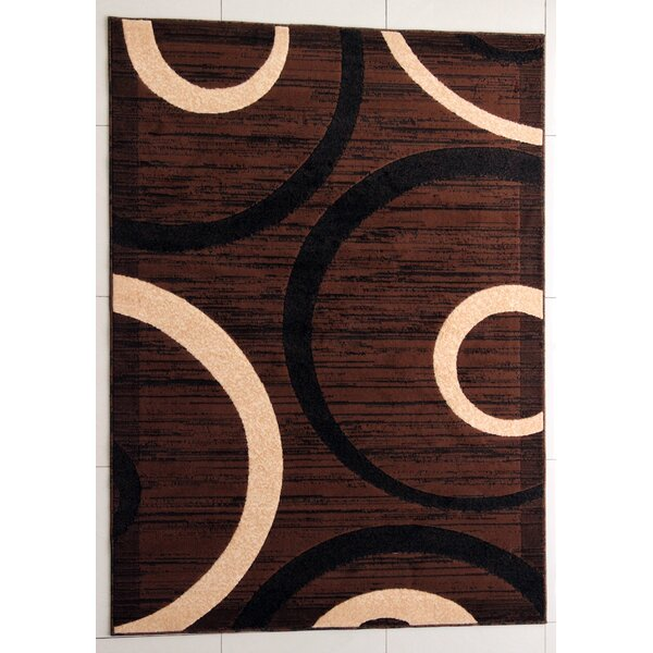Pearsons Brown Area Rug by Ebern Designs