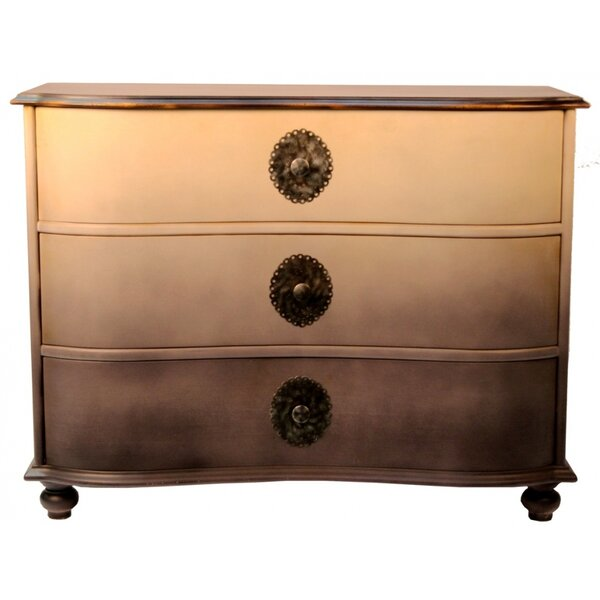Kymani 3 Drawer Dresser by World Menagerie