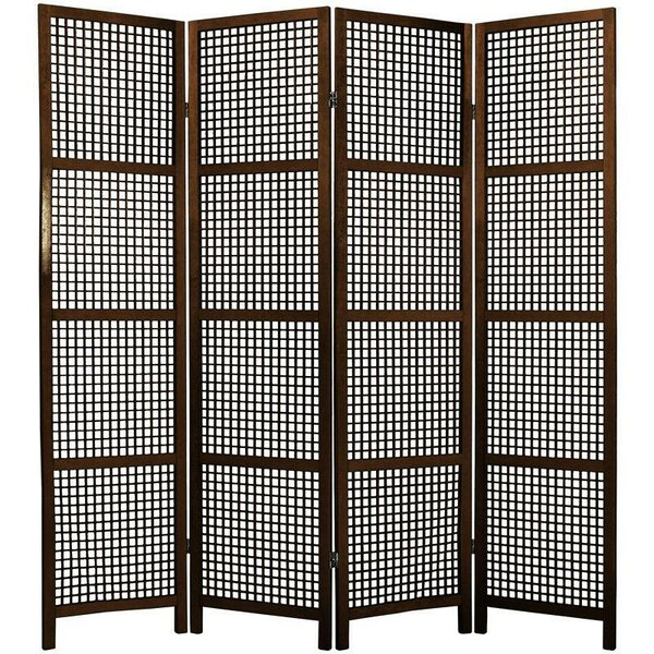 Stoehr Shoji 4 Panel Room Divider by Bay Isle Home