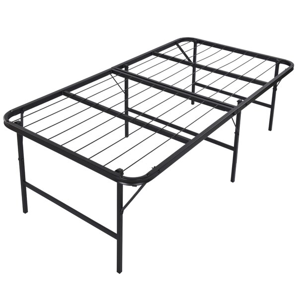Foldable Lightweight Bed Frame by Belleze