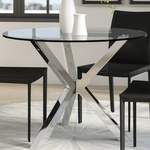 Glass kitchen dining tables youll love wayfair cova lima dining table workwithnaturefo