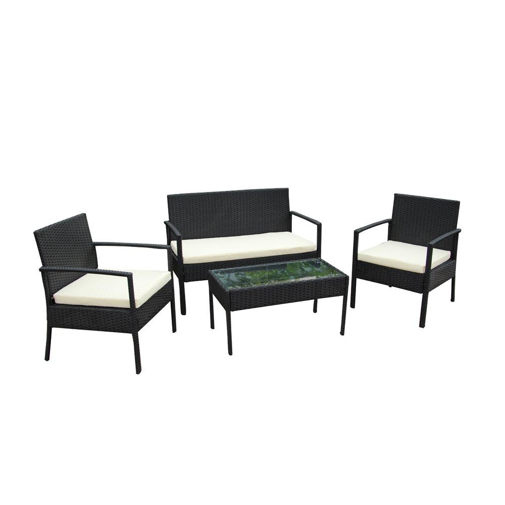 Magnificent Black Rattan Sofa Home Decor 88 Evergreenethics Interior Chair Design Evergreenethicsorg