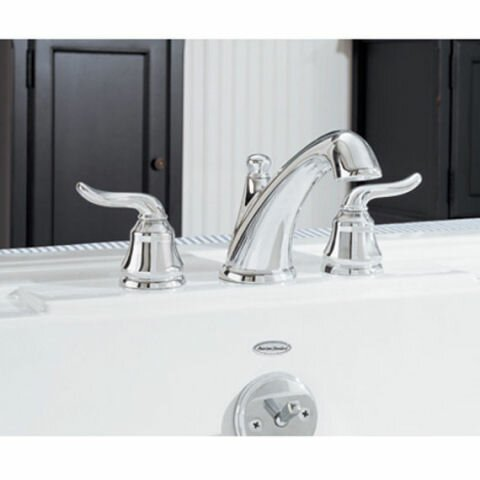 Princeton Deck Mount Tub FillerTrim Kit With Lever Handles & EverClean by American Standard