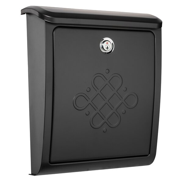 Bordeaux Locking Wall Mounted Mailbox by Architectural Mailboxes
