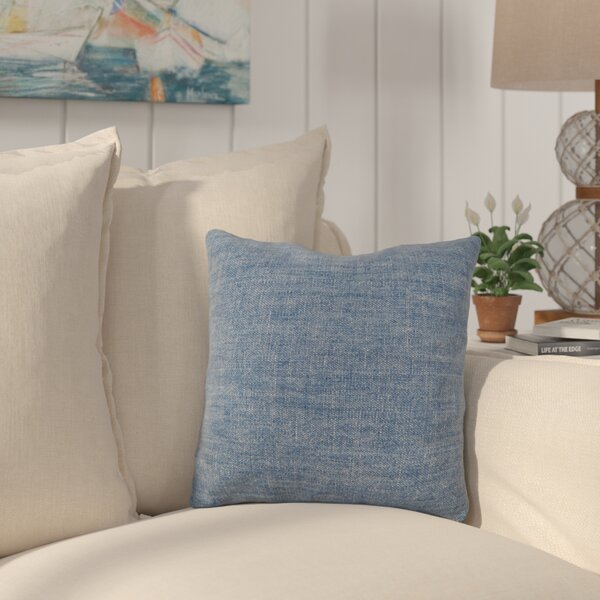 Conewango USA Monogram Throw Pillow by Longshore Tides