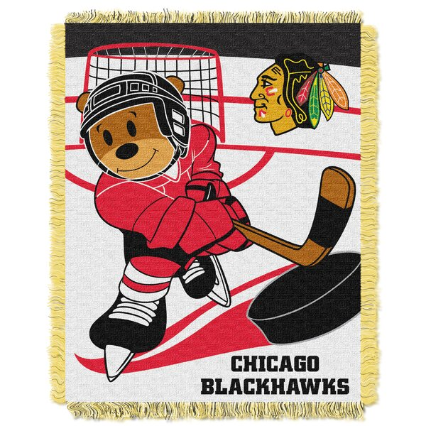 NHL Blackhawks Baby Woven Throw Blanket by Northwest Co.