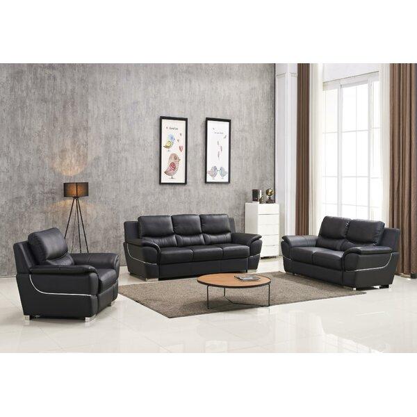 Frohlinger 3 Piece Living Room Set By Orren Ellis