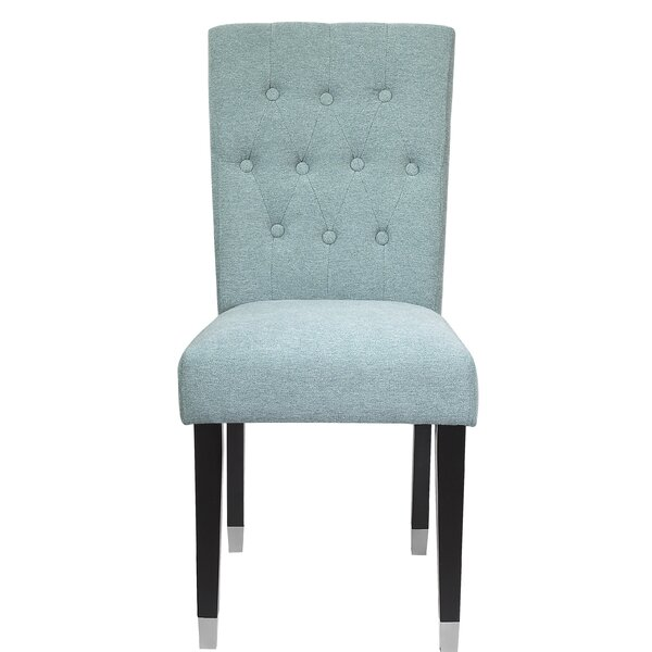 Crespo Upholstered Dining Chair (Set of 2) by Rosdorf Park
