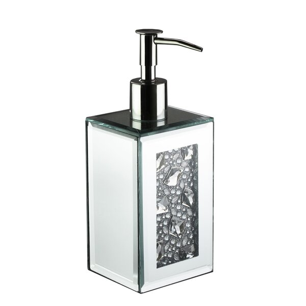 Charon Jewels Mirror Lotion Dispenser by House of Hampton
