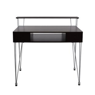 Marcus Writing Desk with Hutch by Proman Products Office Furniture