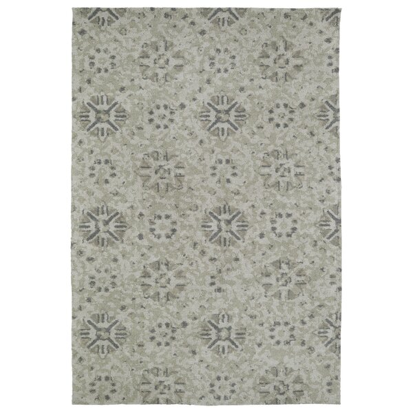 Makina Green Area Rug by Bungalow Rose