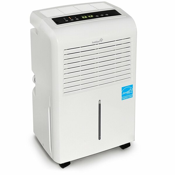 Ivation 30 Pint Dehumidifier with Casters by Ivati