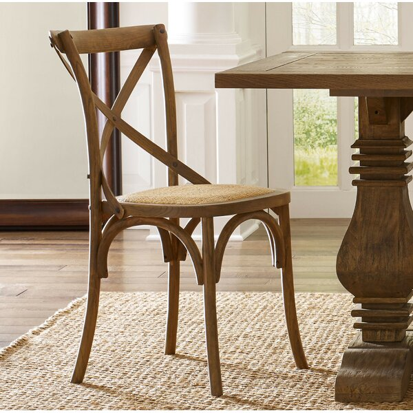 Holly Springs Upholstered Dining Chair (Set of 2) by Three Posts