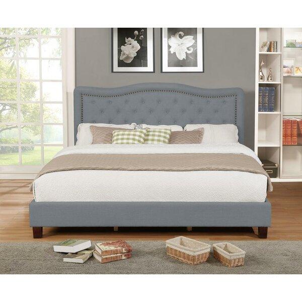Jaylyn Upholstered Platform Bed by Charlton Home