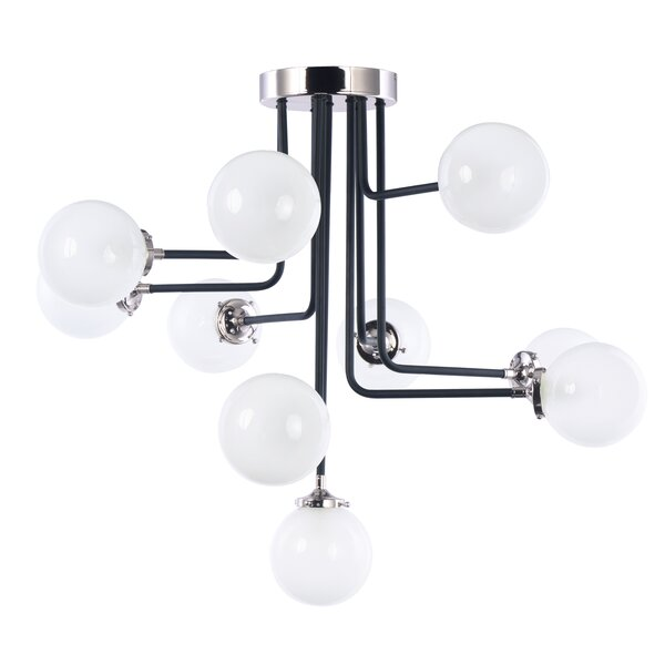 Sam 10-Light Semi Flush Mount by Corrigan Studio