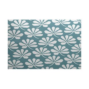 Clearance Allen Park Blue Indoor/Outdoor Rug By Latitude Run
