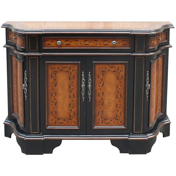 Ceron Wooden 3 Drawer Accent Cabinet by Fleur De Lis Living