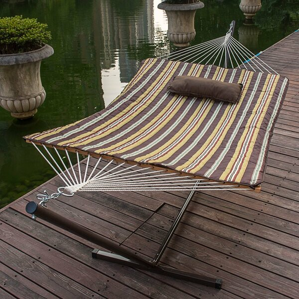 Lazy Daze Double Tree Hammock with Stand by Sundale Outdoor