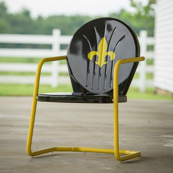 Fleur De Lis Retro Chair by Leigh Country