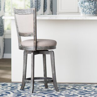 Affordable Topeka 24 Swivel Bar Stool by Darby Home Co