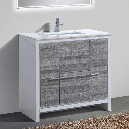Bosley 36 Modern Bathroom Vanity by Mercury Row