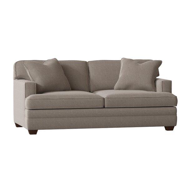 Living Your Way Track Arm Apartment Sofa By Wayfair Custom Upholstery™