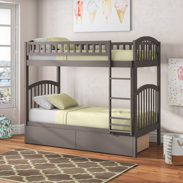 Jackie Twin over Twin Bunk Bed with Drawers by Viv + Rae